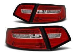 Audi A6 Sedan 08-11 Red White LED Bar LED achterlicht