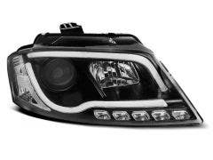 Audi A3 8P 2008-2012 Tube Black LED koplamp units