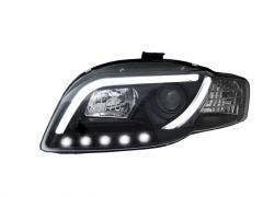 LED koplamp unit geschikt voor Audi A4 (B7) Black