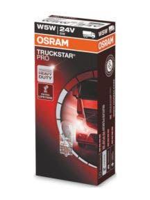 Osram Truckstar Pro W5W 24v 2845TSP FS10