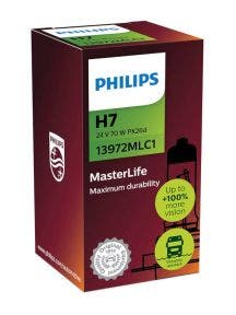 Philips Masterlife Blister 24V H7