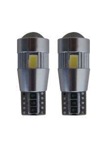 W5W-T10 6 HP Canbus LED - korte versie