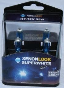 Xenonlook-Super-White-H7-4300K-55w