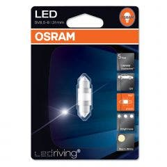 Osram LED Warm White festoon 6497ww-31mm
