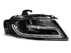 LED koplamp units, geschikt voor Audi A4 B8 04-11 TRU DRL Xenon Black Edition