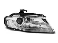 LED koplamp units, geschikt voor Audi A4 B8 04-11 TRU DRL Xenon Chrome Edition