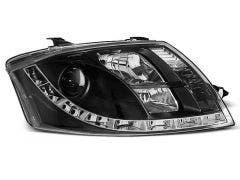 LED koplamp units geschikt voor Audi TT 99-05 Black Edition