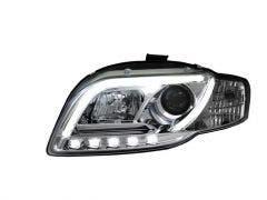LED koplamp unit geschikt voor Audi A4 (B7) Chrome