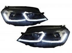 LED koplamp units-Golf-7-Facelift-R-Line-Look-dynamisch-knipperlicht