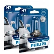 Philips WhiteVision set 3700k - H7 - (2 losse blisters)