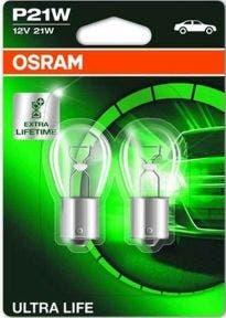 Osram-Ultra-Life-P21W/BA15S-