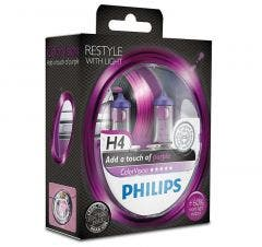 Philips ColorVision Paars - H4