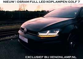 Osram Full LED Golf 7 Koplamp DTS